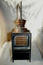 Ancienne Belle Lanterne Chemin de Fer Personnalisée Fabricant A.BUTIN Paris