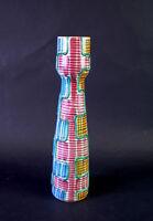 Elfie STADLER (*1930 †1968) grosse Vase 32,5 cm SCHRAMBERG - toller Dekor VERONA