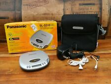 Panasonic SL-S310 Portable CD Player with Box and Accessories