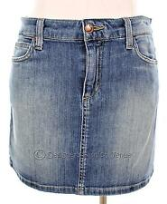 79P Joes Jeans Micro Mini Skirt Size W26 26 Womens A Line Denim Blue Casual