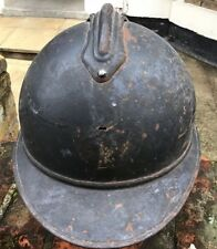 WW1 FRENCH ARMY HELMET SHELL PERSONALISED