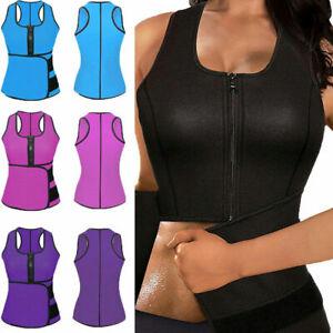 Women Waist Trainer Vest Gym Slimming Adjustable Sauna Sweat Belt Body Shaper