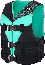 MESLE Schwimm-Weste V210 Damen, Prallschutz-Auftrieb, Wakeboard Wasserski Jetski