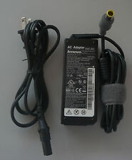 Original Lenovo AC POWER SUPPLY CHARGER ADAPTER & CORD Thinkpad L410 T400 R400 +