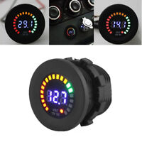 Waterproof 12V LED Car Van Boat Marine Voltmeter Voltage Meter Battery Gauge