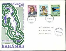 Bahamas 1973 Independence FDC First Day Cover #C48777