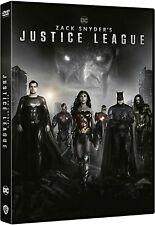 Zack Snyder'S Justice League  [Dvd Nuovo] ITALIANO 2021 DC comics