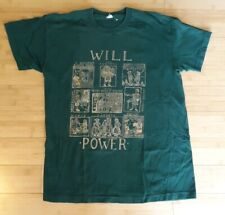 Vintage William Shakespeare Shirt Size M Will Power Romeo And Juliet 90s 80s