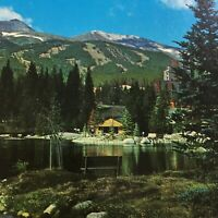 Vintage Postcard The Maggie Pond Breckenridge Colorado S3