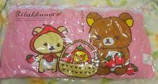 Rilakkuma Long Pillow Pink San-x  Amusement Big Pillow Japan