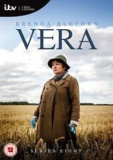 Vera Season Series 8 DVD Brenda Blethyn New & Sealed R4