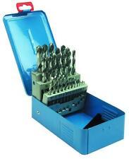 HSS Spiralbohrerkassette, DIN338, Metallbohrer, Spiralbohrer, 25tlg. 1-13mm
