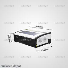 40W Mini Escritorio Co2 láser máquina de grabado láser de corte Grabador USB 3020 W