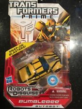 Transformers Prime Robots in Disguise Deluxe Class Autobot Bumblebee Figure New