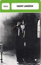 FICHE CINEMA :  HARRY LANGDON -  USA (Biographie/Filmographie)