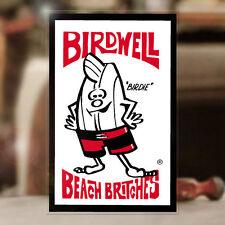 "Birdwell Beach Britches sticker decal hot rod surf Maui Hawaii 4"""