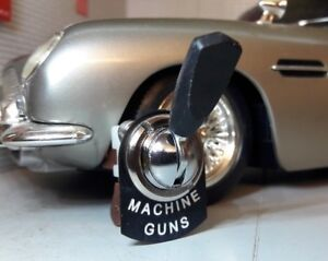 James Bond Aston Martin Spectre Machine Guns Toggle Switch RTC430 Dash Panel