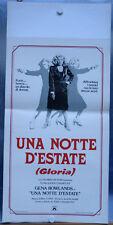 Una notte d'estate Gloria Locandina Poster Affiche CASSAVETES Gena Rowlands LADY