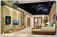 DIY ceiling light fiber optic chandelier 16wRGB LED 280sx4m touch pad remote