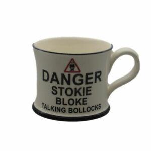 Danger Stoke Bloke Mug Moorland Pottery Birthday Gift Idea