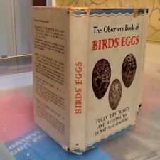 Observers Book Of Birds Eggs 1954