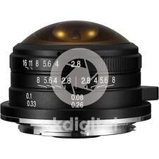 Laowa 4mm f/2.8 Circular Fisheye Lens - MFT