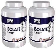 Isolate concept 2kg megaplus pack de 2 botes proteina isolate de suero