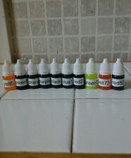 10x10ml soap dye melt and pour soap, shower gels bath bombs colours soap dyes