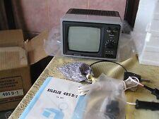 Vintage SILELIS 405D-1 Television Soviet Retro Mini TV - Russia USSR
