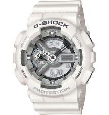 Casio G-Shock Analogue/Digital Mens White X-Large Watch GA-110C-7A GA-110C-7ADR