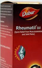 DABUR RHEUMATIL Herbal oil for pain and aches joint health New I 50ml I