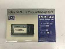 "Belkin F5D8013 ""N"" Wireless MIMO Notebook Card PCMCIA"