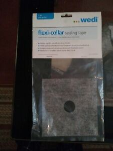 WEDI FLEXI-COLLAR SEALING TAPE NEW IN PACKAGE