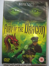 The Green Hornet: Fury of the Dragon Bruce Lee (DVD, 1976) New Sealed PAL