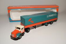 X TEKNO SCANIA VABIS TRUCK WITH TRAILER LOMMERTS VERY NEAR MINT BOXED RARE