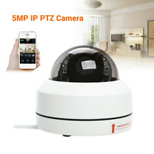 5MP PTZ IP Camera Outdoor Security Dome Camera 5X Optical Zoom IR Night Vision