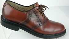 Sears Men's 8.5 EE Style KF403 Lace Up Oxford  Brown Dress Shoes R2-S 4