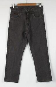 Rodd & Gunn Mens Pants W 32 Brown Jeans Style Straight Leg Zip Fly Shortened