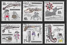 Kucera/armas de fuego MiNr 1854/59 o