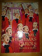 Christmas Songbook: Reader's Digest ~ Best Loved Christmas Carols Words & Music