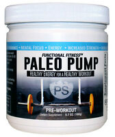 #1 Rated PALEO PUMP All Natural Pre-Workout Powder Energy Blend 30 Servings