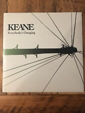 """KEANE """"Everybody's Changing"""" Out Of Print 7"""" Vinyl With Non-Album Track B Side"""