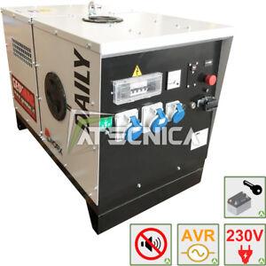 Engine-Generator Diesel Silenced 230V 6Kw Power Generator Genmac Daily 6000KS