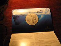 Canada 2012 Polar Bear Iceberg $20 Fine Silver Coin In Rcm Pack.