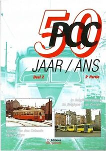 Sonderheft HK Editions 50 Jaar/Ans PCC Deel 2 /2e Partie Tram Straßenbahn NEU