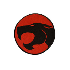 Thundercats Logo Patch Embroidered Iron On Patches Jacket Badge Jeans Applique
