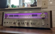 Pioneer SX-780 Stereo Receiver Vintage Purple LEDs Underrated 45 Watts