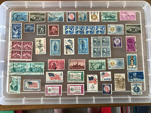 USA Stamps unchecked collection