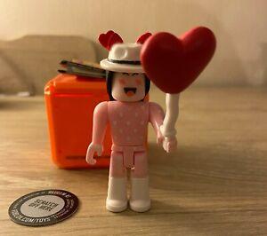 SUPER PINK HEART MAKEUP Roblox Series 8 Celebrity cSapphire w/ VIRTUAL ITEM CODE