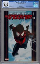 Ultimate Spider-Man 1 2011 CGC 9.6 - Origin of Miles Morales - Sharp Copy - Nice